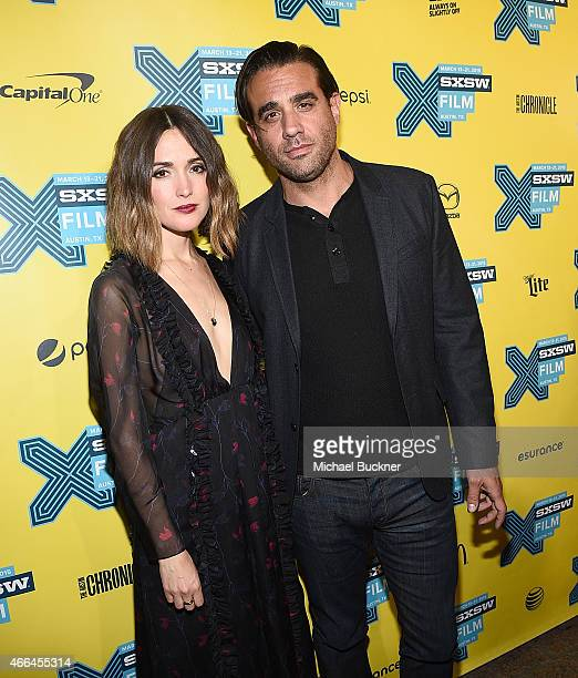 Actress Rose Byrne and actor Bobby Cannavale arrives at the premiere of 'Spy' during the 2015 SXSW Music Film Interactive Festival at the Paramount...