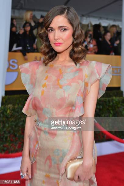 Actress Rose Byrne arrives at the 19th Annual Screen Actors Guild Awards held at The Shrine Auditorium on January 27 2013 in Los Angeles California