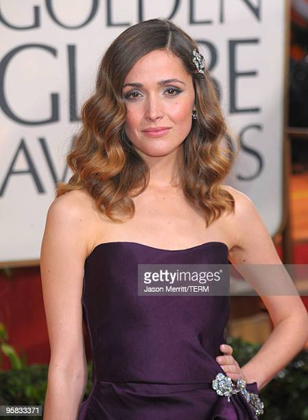 Actress Rose Byrne arrives at the 67th Annual Golden Globe Awards held at The Beverly Hilton Hotel on January 17 2010 in Beverly Hills California