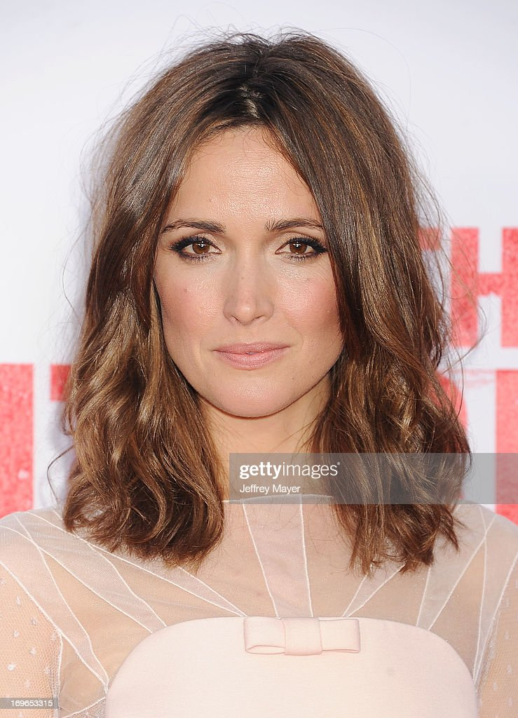 Actress Rose Byrne arrives at 'The Internship' - Los Angeles Premiere at Regency Village Theatre on May 29, 2013 in Westwood, California.