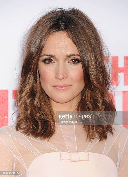 Actress Rose Byrne arrives at 'The Internship' Los Angeles Premiere at Regency Village Theatre on May 29 2013 in Westwood California