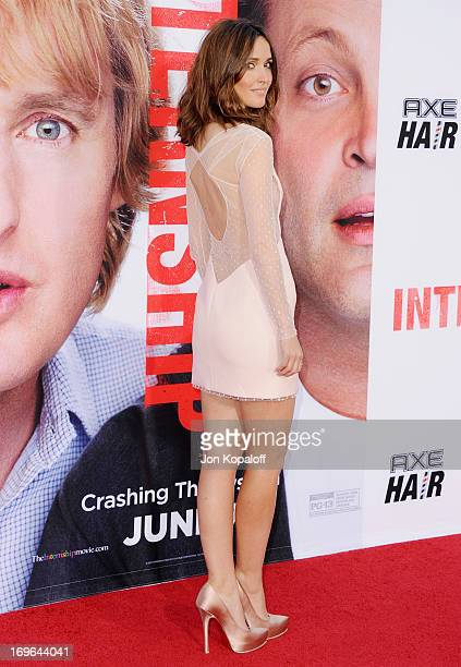 Actress Rose Byrne arrives at the Los Angeles Premiere 'The Internship' at Regency Village Theatre on May 29 2013 in Westwood California