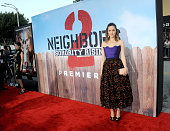 Actress Rose Byrne arrives for the Premiere Of Universal Pictures' 'Neighbors 2 Sorority Rising' held at Regency Village Theatre on May 16 2016 in...