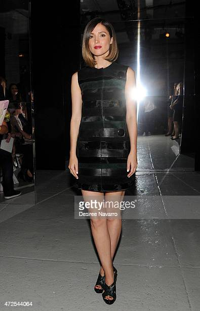 Actress Rose Byrne attends 2015 Pratt Institute Fashion Show And Cocktail Benefit on May 7 2015 in New York City