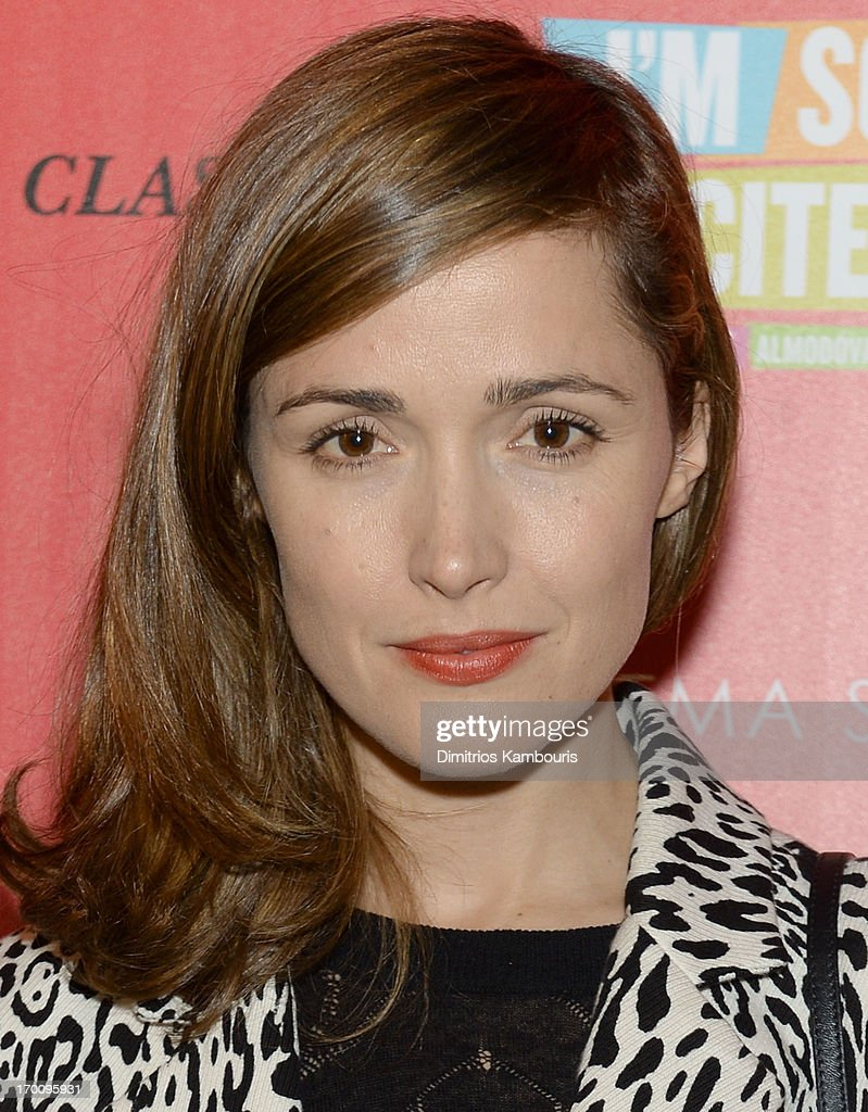 Actress <a gi-track='captionPersonalityLinkClicked' href=/galleries/search?phrase=Rose+Byrne&family=editorial&specificpeople=206670 ng-click='$event.stopPropagation()'>Rose Byrne</a> attends Girard-Perregaux And The Cinema Society With DeLeon Host a Screening Of Sony Pictures Classics' 'I'm So Excited' at Sunshine Landmark on June 6, 2013 in New York City.