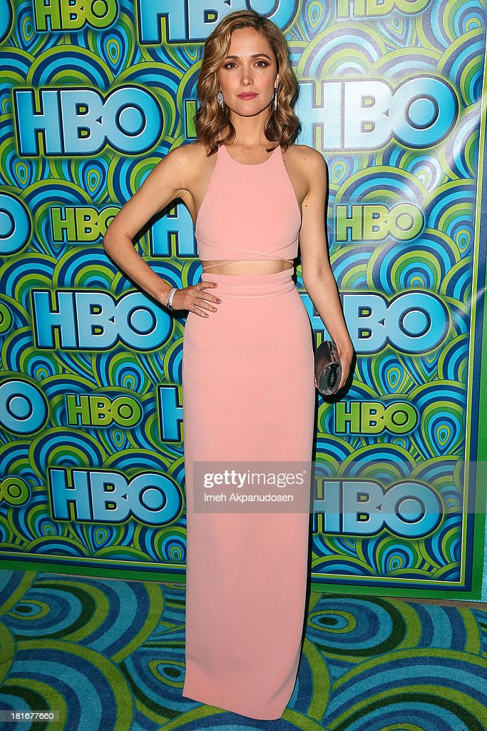 Actress Rose Byrne attends HBO's Annual Primetime Emmy Awards Post Award Reception at The Plaza at the Pacific Design Center on September 22, 2013 in Los Angeles, California.