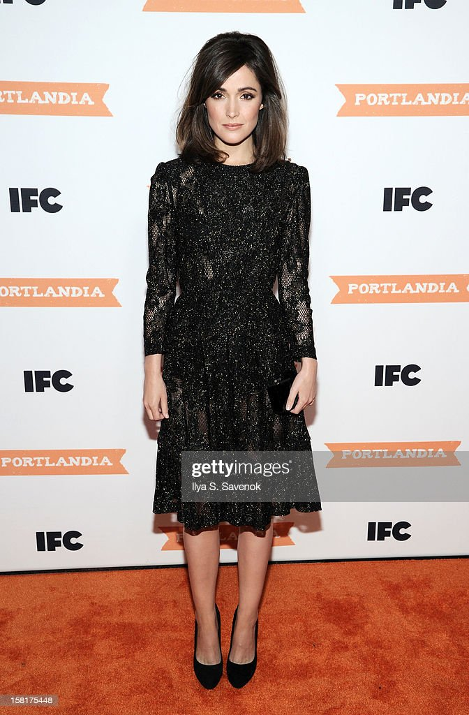 Actress Rose Byrne attends IFC's 'Portlandia' Season 3 New York Premiere at American Museum of Natural History on December 10, 2012 in New York City.