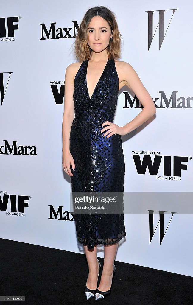 Actress Rose Byrne attends MaxMara And W Magazine Cocktail Party To Honor The Women In Film MaxMara Face Of The Future, Rose Byrne at Chateau Marmont on June 10, 2014 in Los Angeles, California.