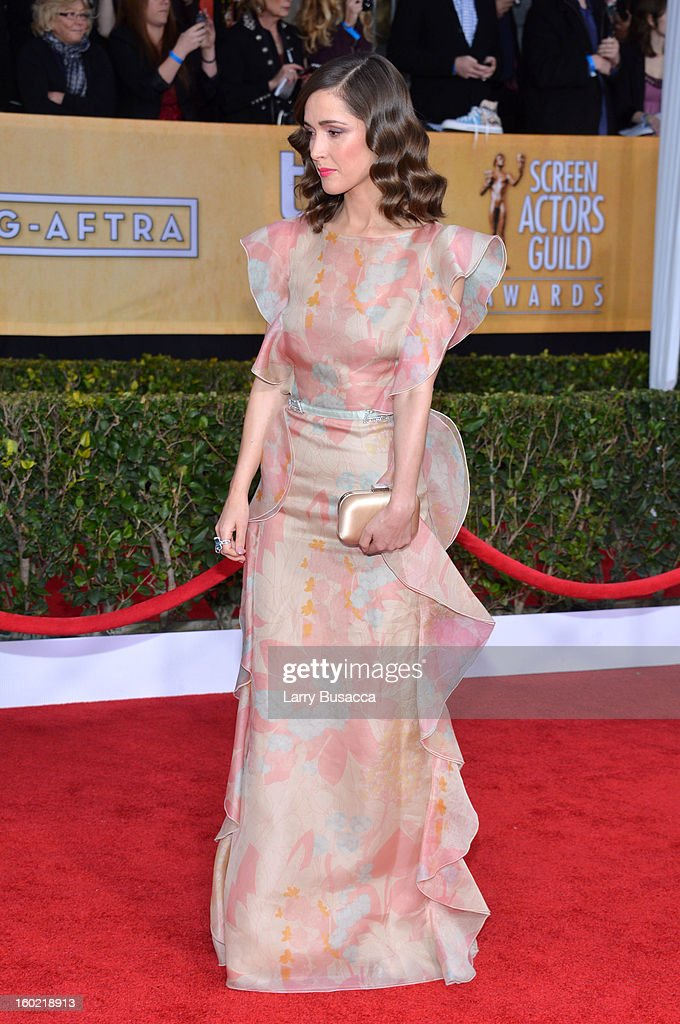 Actress Rose Byrne attends the 19th Annual Screen Actors Guild Awards at The Shrine Auditorium on January 27, 2013 in Los Angeles, California. (Photo by Larry Busacca/WireImage) 23116_018_1510.JPG