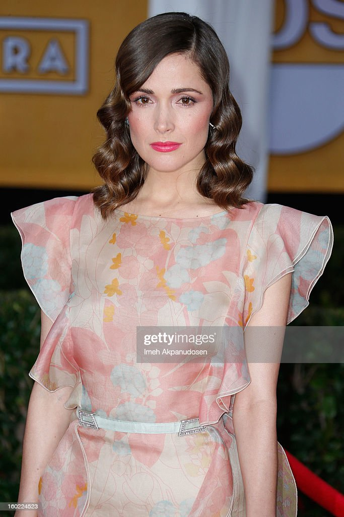Actress Rose Byrne attends the 19th Annual Screen Actors Guild Awards at The Shrine Auditorium on January 27, 2013 in Los Angeles, California.