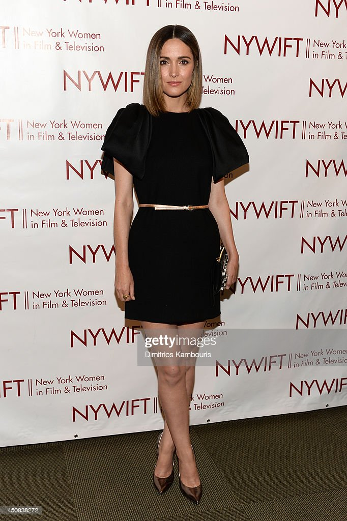 Actress <a gi-track='captionPersonalityLinkClicked' href=/galleries/search?phrase=Rose+Byrne&family=editorial&specificpeople=206670 ng-click='$event.stopPropagation()'>Rose Byrne</a> attends the 2014 New York Women In Film And Television 'Designing Women' Awards Gala at McGraw Hill Building on June 18, 2014 in New York City.