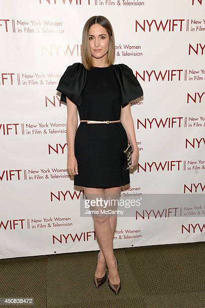 Actress Rose Byrne attends the 2014 New York Women In Film And Television 'Designing Women' Awards Gala at McGraw Hill Building on June 18 2014 in...