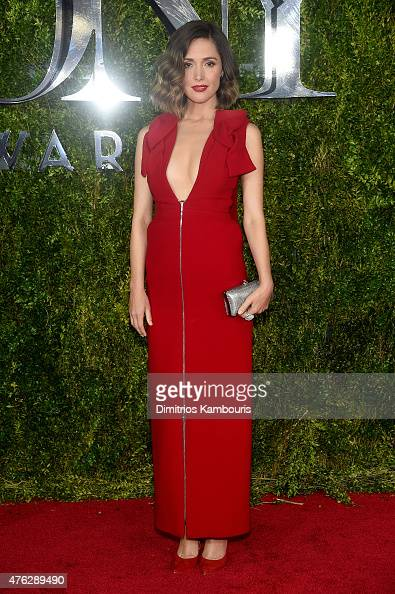 Actress Rose Byrne attends the 2015 Tony Awards at Radio City Music Hall on June 7 2015 in New York City