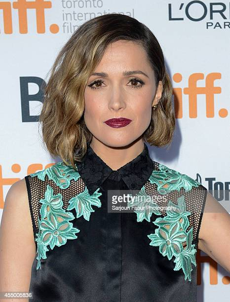 Actress Rose Byrne attends the 'Adult Beginners' premiere during the 2014 Toronto International Film Festival at Ryerson Theatre on September 8 2014...