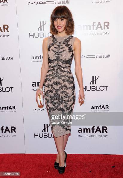Actress Rose Byrne attends the amfAR New York Gala To Kick Off Fall 2012 Fashion Week Presented By Hublot at Cipriani Wall Street on February 8 2012...