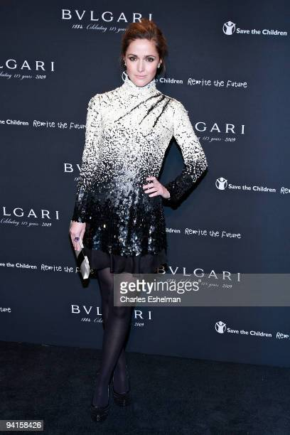 Actress Rose Byrne attends the Bulgari auction to benefit Save the Children's 'Rewrite the Future' at Christie's on December 8 2009 in New York City