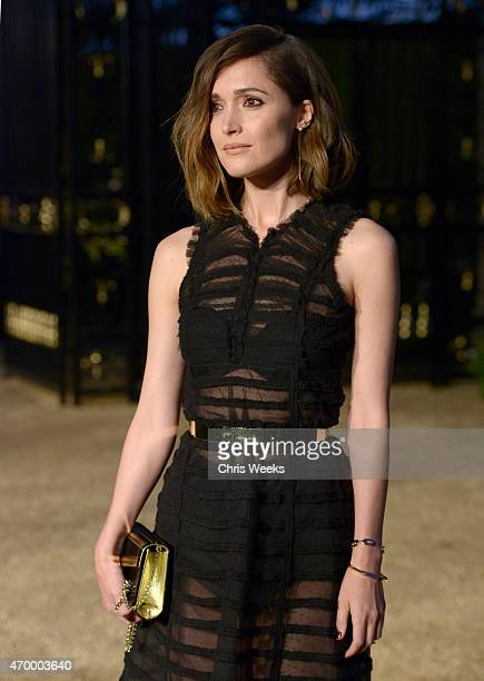 Actress Rose Byrne attends the Burberry 'London in Los Angeles' event at Griffith Observatory on April 16 2015 in Los Angeles California