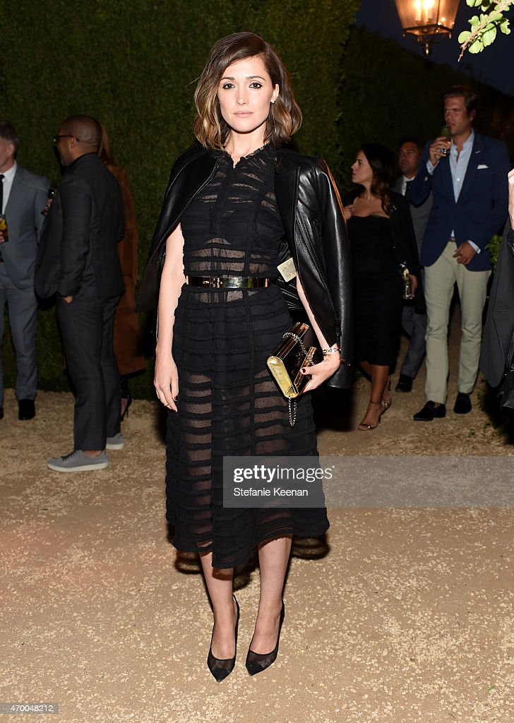 Actress Rose Byrne attends the Burberry 'London in Los Angeles' event at Griffith Observatory on April 16, 2015 in Los Angeles,