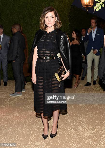 Actress Rose Byrne attends the Burberry 'London in Los Angeles' event at Griffith Observatory on April 16 2015 in Los Angeles