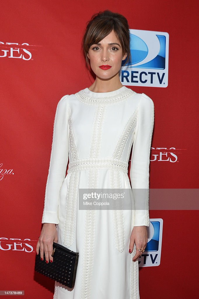 Actress Rose Byrne attends The DIRECTV Premiere event for the fifth and Final Season of 'Damages' at The Oak Room on June 28, 2012 in New York City.