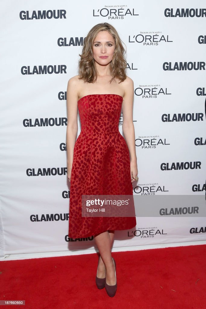 Actress <a gi-track='captionPersonalityLinkClicked' href=/galleries/search?phrase=Rose+Byrne&family=editorial&specificpeople=206670 ng-click='$event.stopPropagation()'>Rose Byrne</a> attends the Glamour Magazine 23rd annual Women Of The Year gala on November 11, 2013 in New York, United States.