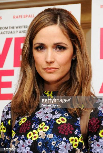 Actress Rose Byrne attends the 'I Give It A Year' New York Screening at the Crosby Street Theater on July 30 2013 in New York City