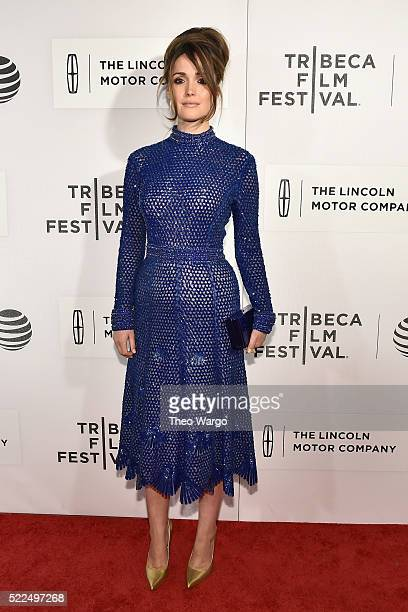 Actress Rose Byrne attends 'The Meddler' Premiere during the 2016 Tribeca Film Festival at BMCC John Zuccotti Theater on April 19 2016 in New York...
