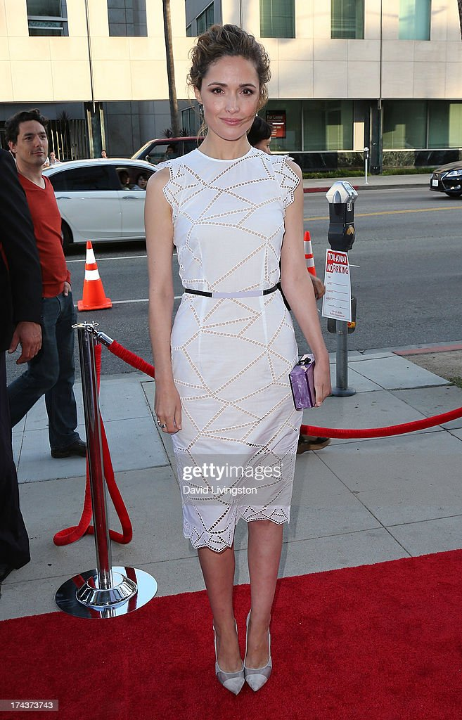 Actress Rose Byrne attends the premiere of 'Blue Jasmine' hosted by the AFI & Sony Picture Classics at the AMPAS Samuel Goldwyn Theater on July 24, 2013 in Beverly Hills, California.