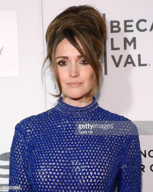 Actress Rose Byrne attends the premiere of 'The Meddler' at Borough of Manhattan Community College during the 2016 TriBeCa Film Festival on April 19...