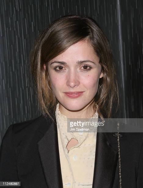 Actress Rose Byrne attends the premiere of 'The Road' at Abe Arthur's on November 16 2009 in New York City