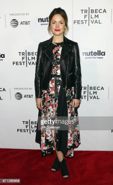 Actress Rose Byrne attends the Shorts Program New York Group Therapy during the 2017 Tribeca Film Festival at Regal Battery Park Cinemas on April 21...