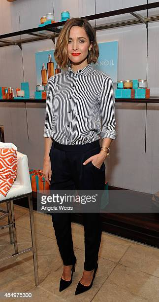 Actress Rose Byrne attends the Variety Studio presented by Moroccanoil at Holt Renfrew during the 2014 Toronto International Film Festival on...