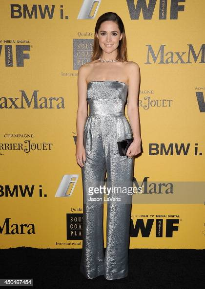 Actress Rose Byrne attends the Women In Film 2014 Crystal Lucy Awards at the Hyatt Regency Century Plaza on June 11 2014 in Century City California