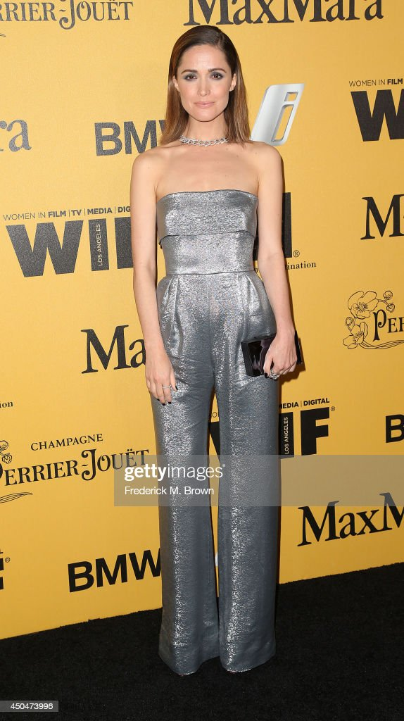Actress <a gi-track='captionPersonalityLinkClicked' href=/galleries/search?phrase=Rose+Byrne&family=editorial&specificpeople=206670 ng-click='$event.stopPropagation()'>Rose Byrne</a> attends the Women In Film, Los Angeles Presents the 2014 Crystal + Lucy Awards at the Hyatt Regency Century Plaza Hotel on June 11, 2014 in Century City, California.