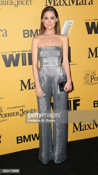 Actress Rose Byrne attends the Women In Film Los Angeles Presents the 2014 Crystal Lucy Awards at the Hyatt Regency Century Plaza Hotel on June 11...