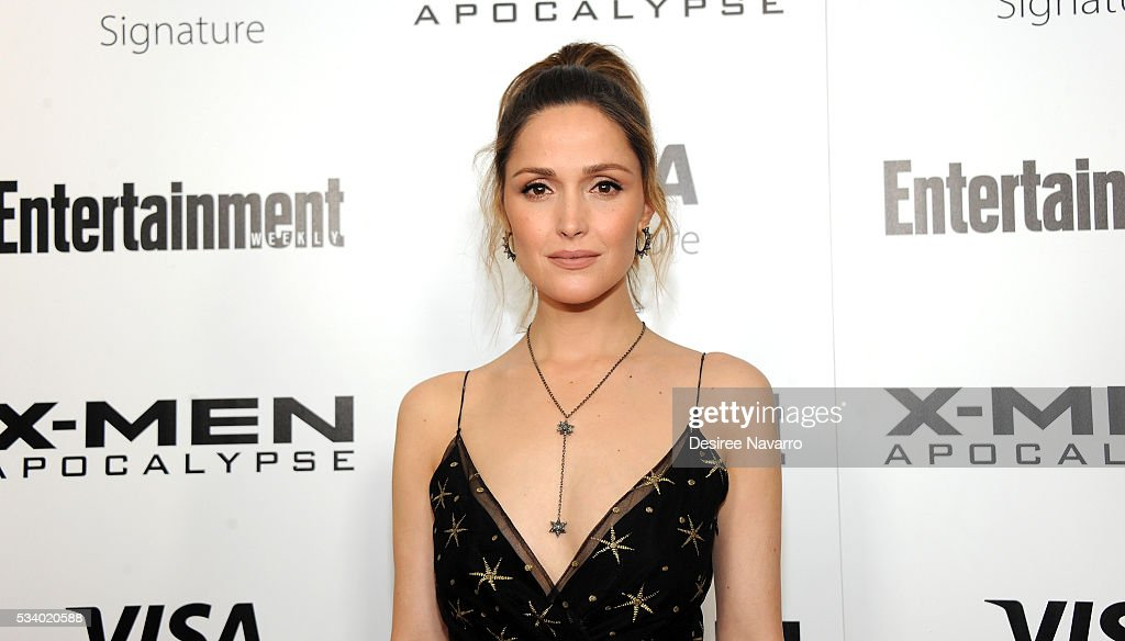 Actress <a gi-track='captionPersonalityLinkClicked' href=/galleries/search?phrase=Rose+Byrne&family=editorial&specificpeople=206670 ng-click='$event.stopPropagation()'>Rose Byrne</a> attends 'X-Men Apocalypse' New York Screening at Entertainment Weekly on May 24, 2016 in New York City.