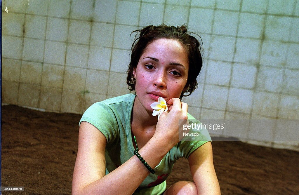 Actress Rose Byrne poses for a photo on set of Sydney Theatre Company production La Dispute on April 20, 2000 in Sydney, Australia.