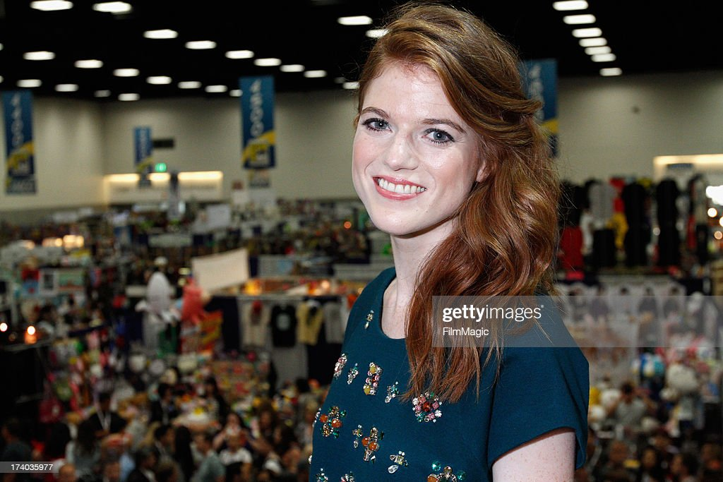Actress Rose Leslie attends HBO's 'Game Of Thrones' cast autograph signing at San Diego Convention Center on July 19, 2013 in San Diego, California.