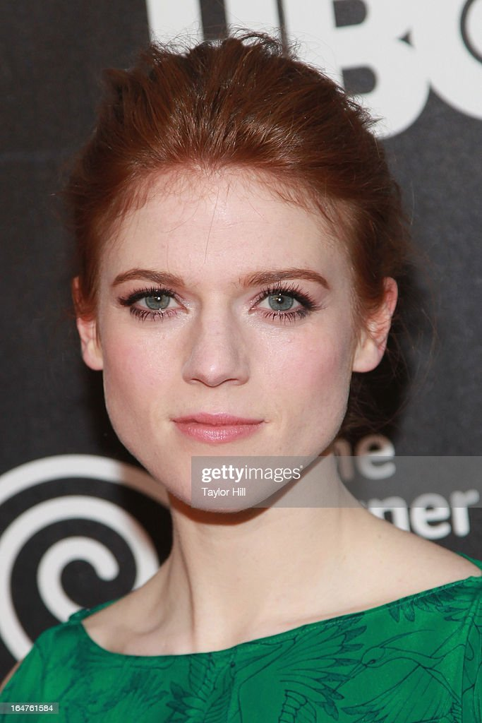 Actress Rose Leslie attends the 'Game Of Thrones' The Exhibition New York Opening at 3 West 57th Avenue on March 27, 2013 in New York City.