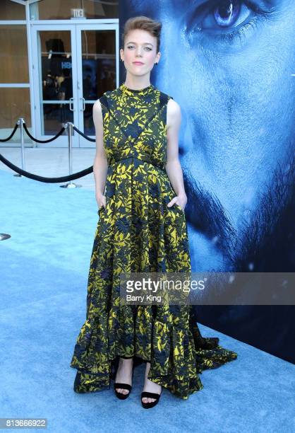 Actress Rose Leslie attends the Premiere of HBO's 'Game Of Thrones' Season 7 at Walt Disney Concert Hall on July 12 2017 in Los Angeles California
