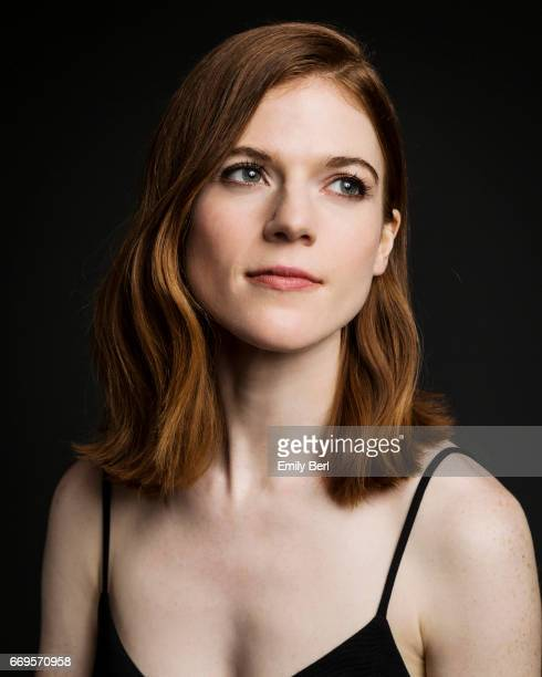 Actress Rose Leslie is photographed for Los Angeles Times on January 9 2017 in Los Angeles California