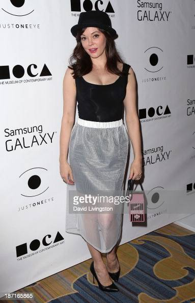 Actress Rose McGowan attends the 8th Annual MOCA Awards to Distinguished Women in the Arts Luncheon at the Beverly Wilshire Four Seasons Hotel on...