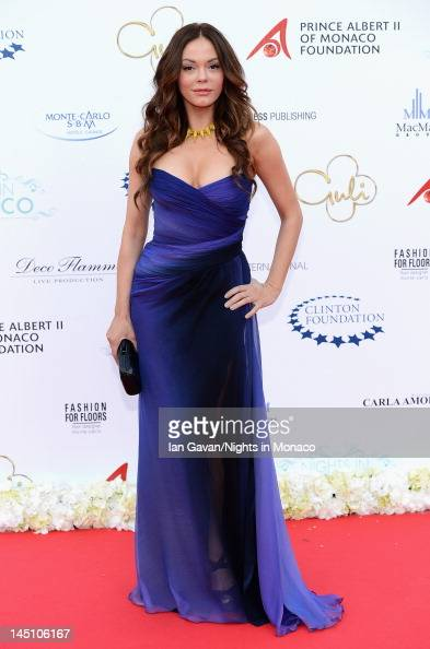 Actress Rose McGowan attends the 'Nights In Monaco' Gala Fundraiser equally benefiting The Prince Albert II of Monaco Foundation and the William J...