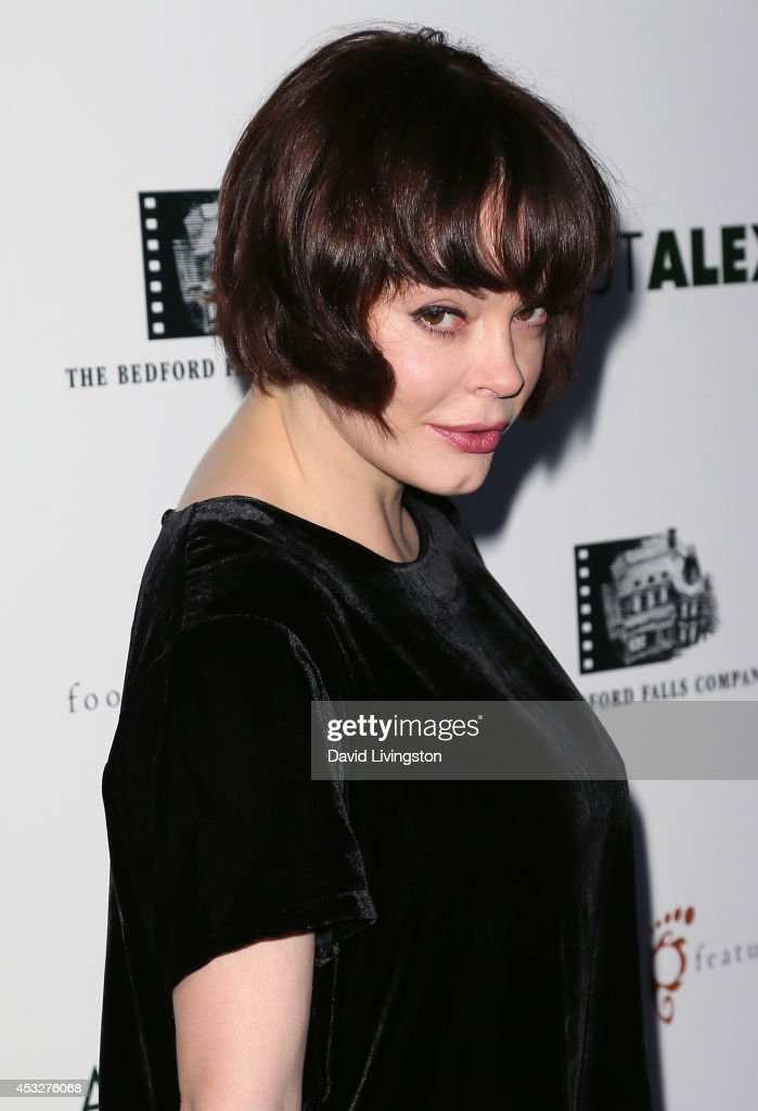 Actress Rose McGowan attends the premiere of 'About Alex' at ArcLight Hollywood on August 6, 2014 in Hollywood, California.