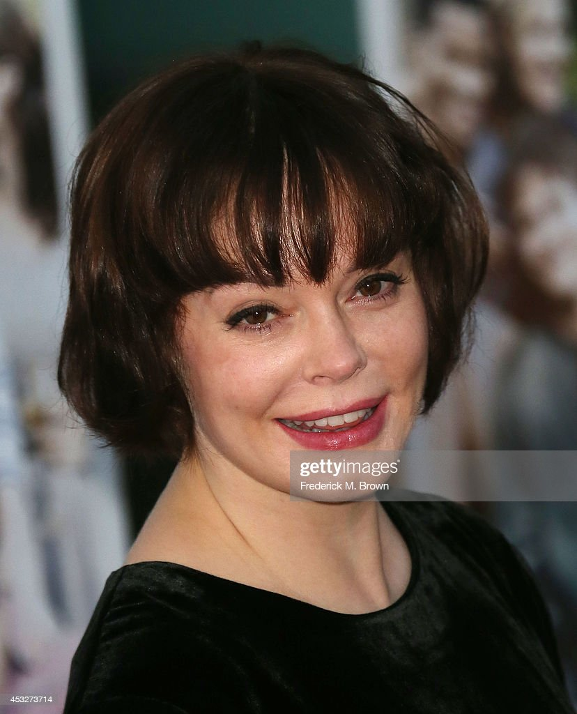 Actress <a gi-track='captionPersonalityLinkClicked' href=/galleries/search?phrase=Rose+McGowan&family=editorial&specificpeople=206451 ng-click='$event.stopPropagation()'>Rose McGowan</a> attends the Premiere of 'About Alex' at the ArcLight Hollywood on August 6, 2014 in Hollywood, California.