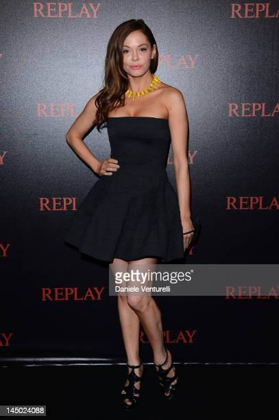 Actress Rose McGowan attends the Replay Party during the 65th Annual Cannes Film Festival at Palais des Festivals on May 22 2012 in Cannes France