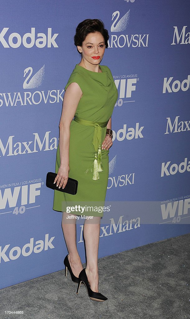 Actress Rose McGowan attends Women In Film's 2013 Crystal + Lucy Awards at The Beverly Hilton Hotel on June 12, 2013 in Beverly Hills, California.