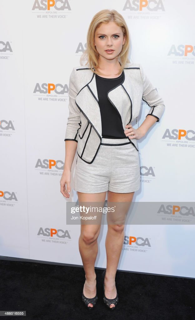 Actress <a gi-track='captionPersonalityLinkClicked' href=/galleries/search?phrase=Rose+McIver&family=editorial&specificpeople=6539142 ng-click='$event.stopPropagation()'>Rose McIver</a> arrives at The American Society For The Prevention Of Cruelty To Animals Celebrity Cocktail Party on May 6, 2014 in Beverly Hills, California.