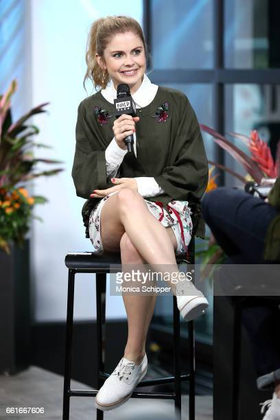 Actress Rose McIver attends Build Series Presents Rose McIver Discussing 'iZombie' at Build Studio on March 31 2017 in New York City