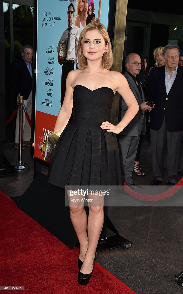 Actress Rose McIver attends Focus Features' 'Wish I Was Here' premiere at DGA Theater on June 23, 2014 in Los Angeles, California.